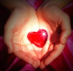 healing messages heart